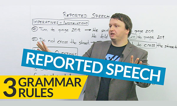 Reported Speech nedir